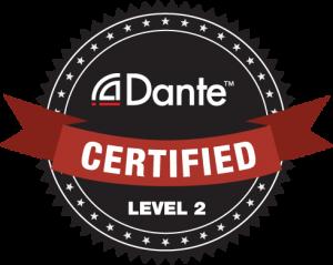 Dante certified Level 2