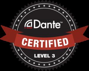Dante Certified Level 3